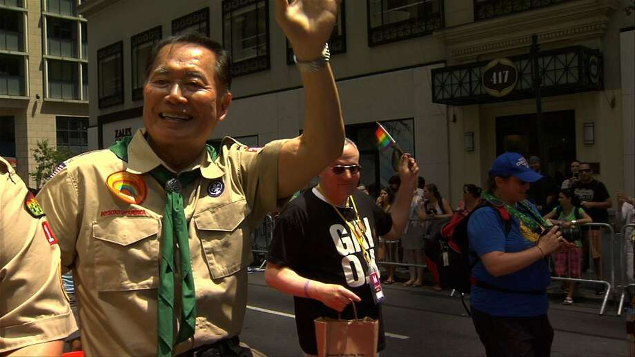 "June 19-29, Frameline 38: The film fest opens with ""The Case Against 8"" and ""Holiday"" (and don't forget the opening night gala!), and continues for 10 more days of LGBT-focused features, shorts and docs, including this one, ""To Be Takei,"" featuring this year's Frameline Award recipient, George Takei. Website. Photo: Courtesy Frameline"
