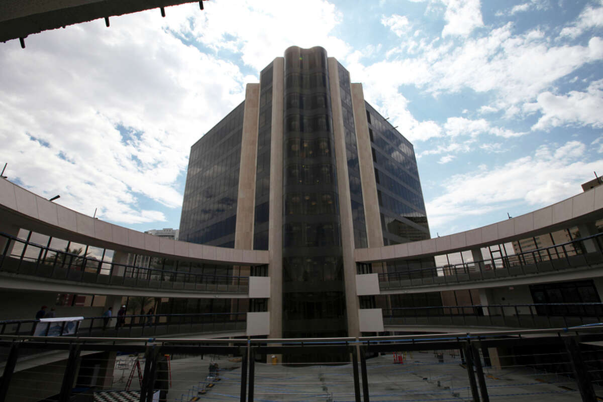 Zappos operates out of the former Las Vegas City Hall, which got a multimillion-dollar makeover.