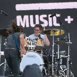 Trevor Terndrup, left, and Tyler Ritter of Moon Taxi perform at the 2014 Bottlerock Napa Valley music, food and wine festival on Friday, May 30, 2014 in Napa, Calif.