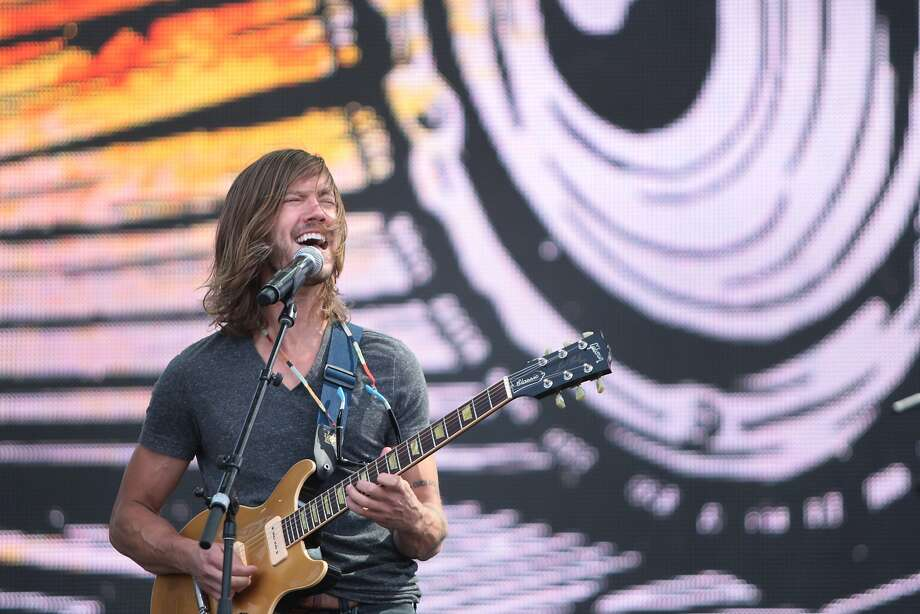 Trevor Terndrup of Moon Taxi sings at the 2014 Bottlerock Napa Valley music, food and wine festival on Friday, May 30, 2014 in Napa, Calif. Photo: Kevin N. Hume, The Chronicle