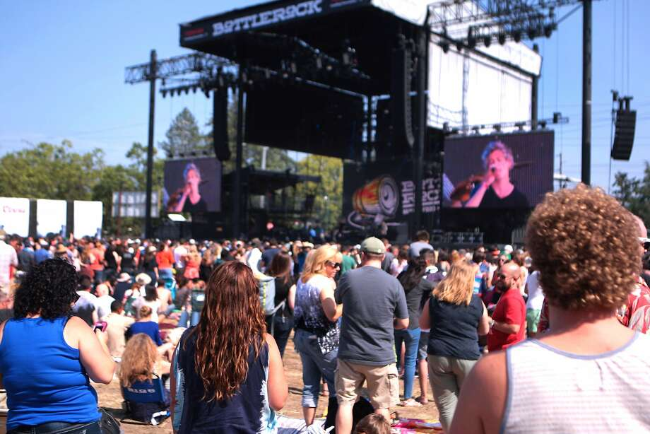 A large crowd gathered to watch Matisyahu perform at the 2014 Bottlerock Napa Valley music, food and wine festival on Friday, May 30, 2014 in Napa, Calif. Photo: Kevin N. Hume, The Chronicle