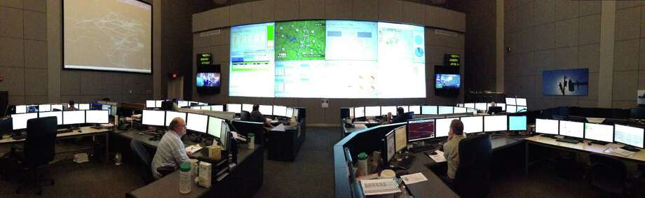 The Electric Reliability Council of Texas operates much of the state's grid from this Austin control center. An ERCOT consultant says power generators are prohibited from withholding power to influence prices. Photo: Emily Pickrell, HC Staff / Houston Chronicle