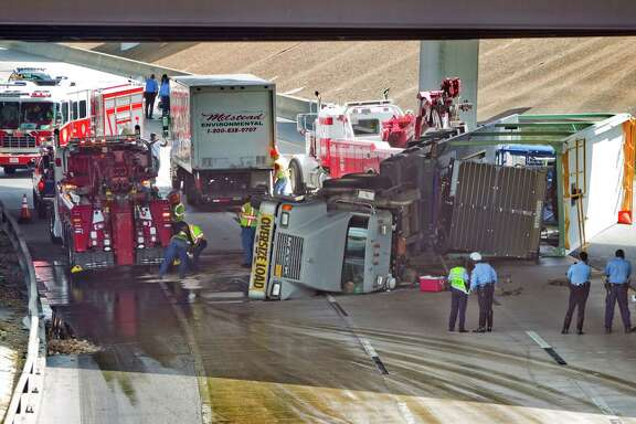Truck fatality collisions on Houston roads have taken an average of 450 minutes - seven and a half hours - to clear this year, compared to an average of 270 minutes last year. The freeway clearing program will help improve drive times.