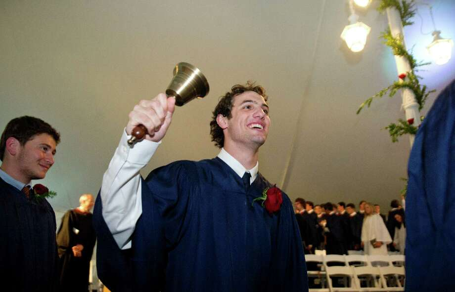 The King commencement ceremony on Friday, May 30, 2014. Photo: Lindsay Perry / Stamford Advocate