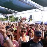 A large crowd gathered to watch the Gin Blossoms at the 2014 Bottlerock Napa Valley music, food and wine festival on Friday, May 30, 2014 in Napa, Calif.