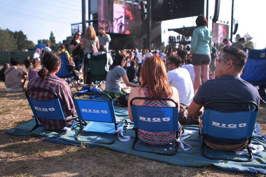 Many people brought chairs to sit in at the 2014 Bottlerock Napa Valley music, food and wine festival on Friday, May 30, 2014 in Napa, Calif. Photo: Kevin N. Hume, The Chronicle