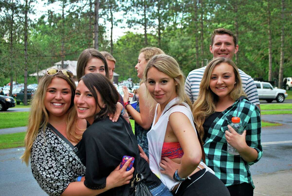Were you Seen at the first night of the Dave Matthews Band two-night stand at SPAC on Friday, May 30, 2014?