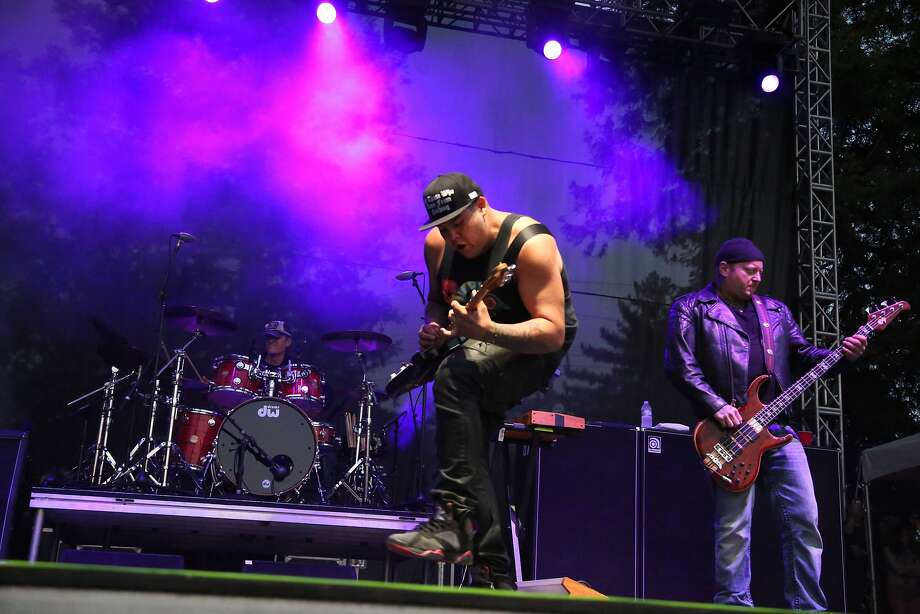 Sublime with Rome performs at the 2014 Bottlerock Napa Valley music, food and wine festival on Friday, May 30, 2014 in Napa, Calif. Photo: Kevin N. Hume, The Chronicle