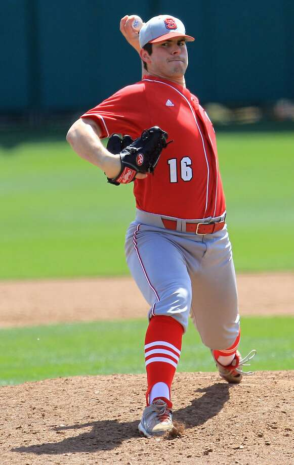 North Carolina State's Carlos Rodon will be a quick pick. Photo: Mark Crammer, Associated Press