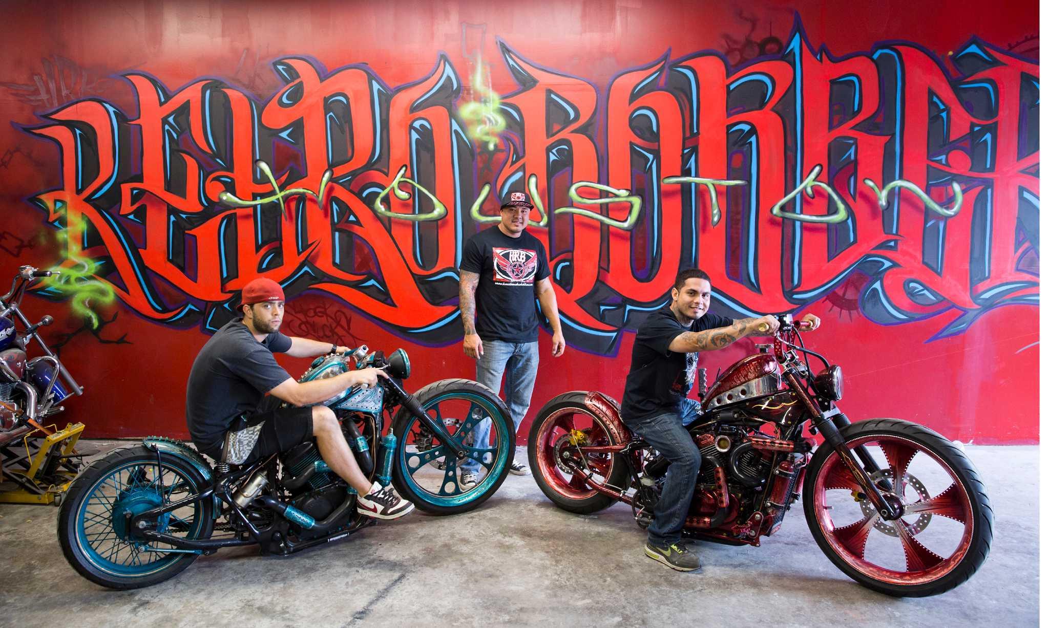 Motorcycle customizer rides high - HoustonChronicle com