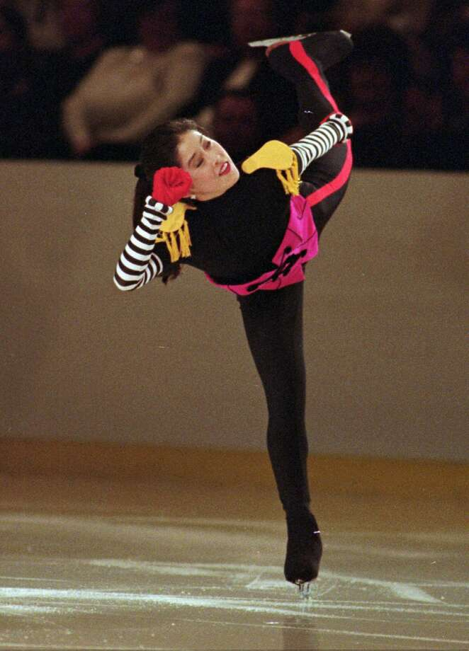 Kristi Yamaguchi, Mission San Jose (Fremont), 1989:  Olympic gold medalist figure skater Photo: Kevin Larkin, AP