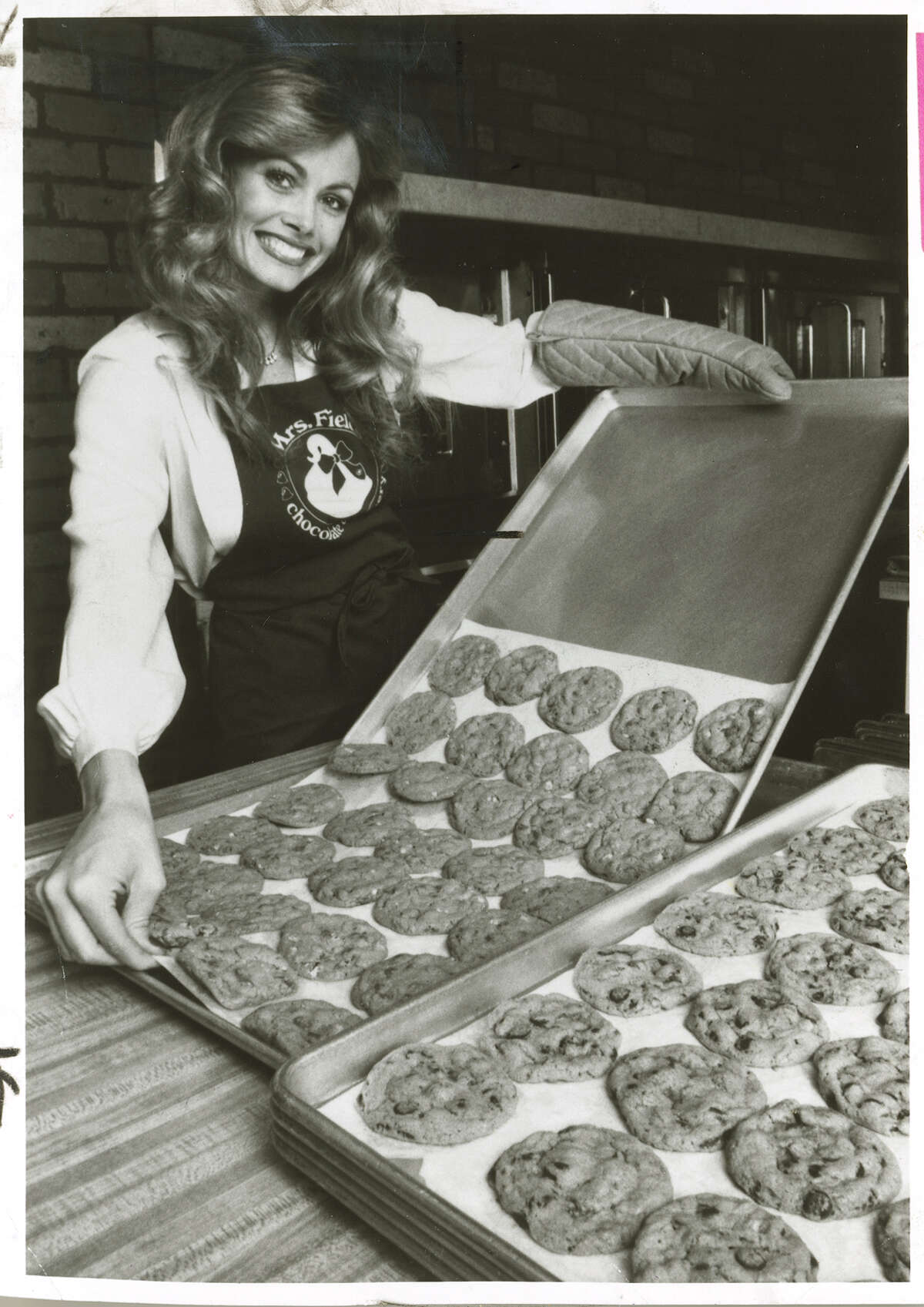 Debbi Fields, the founder of Mrs. Fields Cookies in a 1982 photo from The San Francisco Chronicle archive.