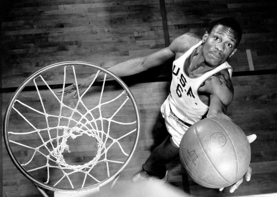 Today is basketball legend Bill Russell's 82nd birthday. In honor of the great player and local star, here's a look at Russell over the years. Photo: AP/Wide World Photos / HO