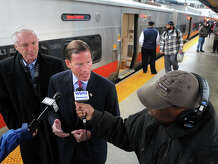 """Federal Railroad Administration enforcement records obtained by Hearst Connecticut Media show regulators fined Metro-North for failing to follow proper radio procedures. After striking McGrath, a 49 year-old father with 25 years of railroad experience, the engineer failed to say """"emergency"""" three times when reporting the accident over the radio. """"This raises severe and serious concerns,"""" said U.S. Sen. Richard Blumenthal, D-Conn, referring to the relatively small fine for McGrath's death."""