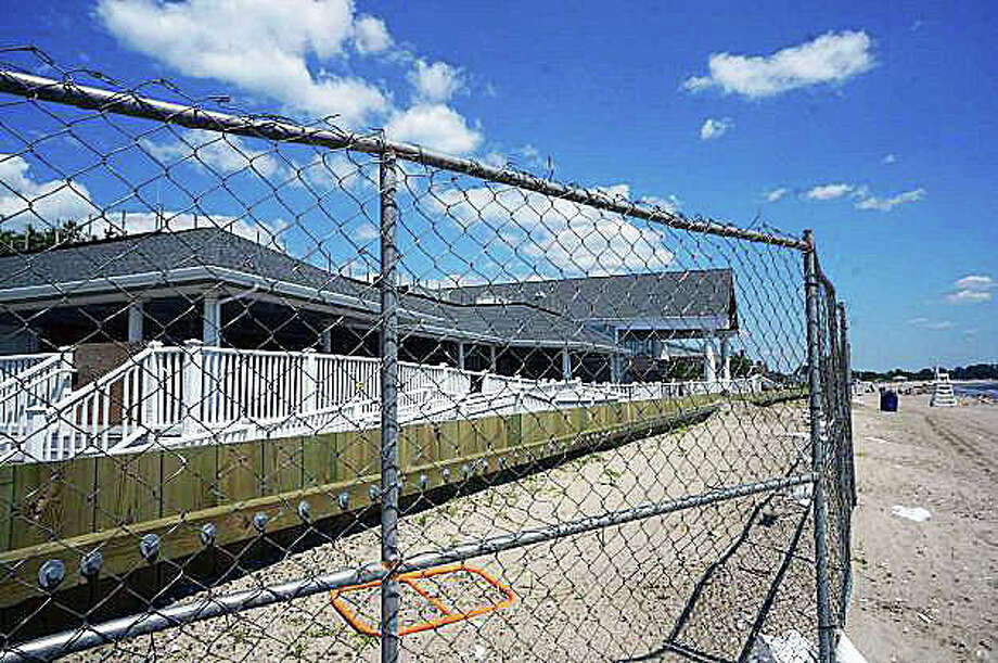 More than a year after Superstorm Sandy, Penfield Pavilion remains closed to the public. A building committee to determine the facility's fate is scheduled to start meeting in January. Photo: File Photo / Fairfield Citizen