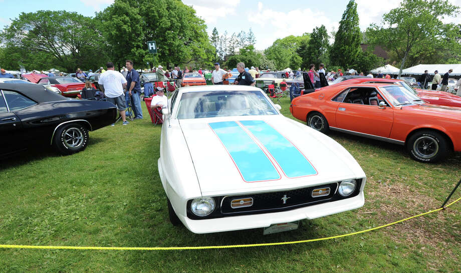 Greenwich Concours d'Elegance at Roger Sherman Baldwin Park in Greenwich, Saturday, May 31, 2014. Photo: Bob Luckey / Greenwich Time