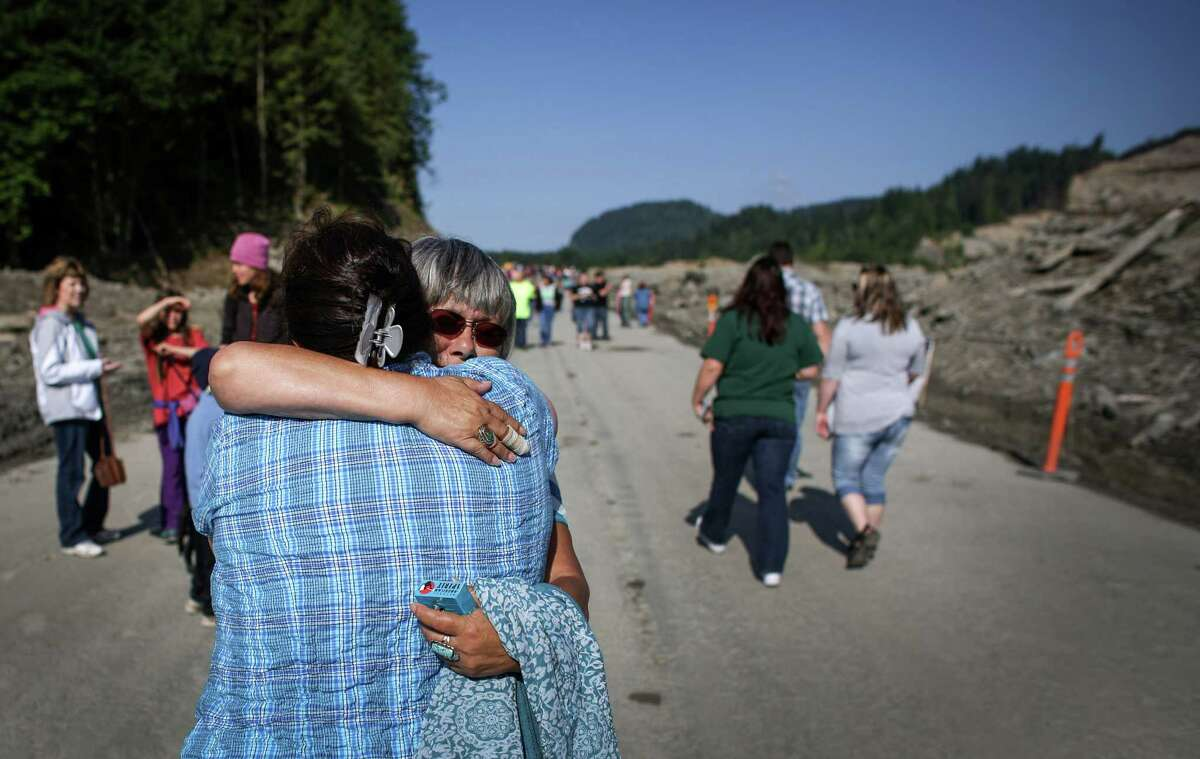 The state Route 530 landslide occurred about 10:45 a.m. March 22, 2015. It killed 43 people and destroyed more than 40 structures. It is known to be one of the deadliest landslides in national history. The debris covered nearly one square mile over residential neighborhoods and highway 530. The last victim found was Molly Kristine