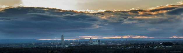 Elliott Ambrosio took this skyline of Albany from East Greenbush in late April. See more of his work at https://m.facebook.com/ElliottGAmbrosioPhotography.  (Elliott Ambrosio @EGphotography)