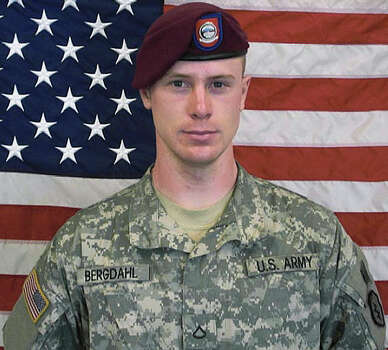 In an undated handout photo, U.S. Army Sgt. Bowe Bergdahl, who was taken prisoner in Afghanistan in June of 2009. Bergdahl was released in good condition on May 31, 2014 in exchange for five Taliban prisoners held in Guantanamo Bay, Cuba, after negotiations carried out by Qatari intermediaries, according to U.S. officials. (U.S. Army via The New York Times) -- FOR EDITORIAL USE ONLY.-- Photo: U.S. ARMY, New York Times / U.S. ARMY