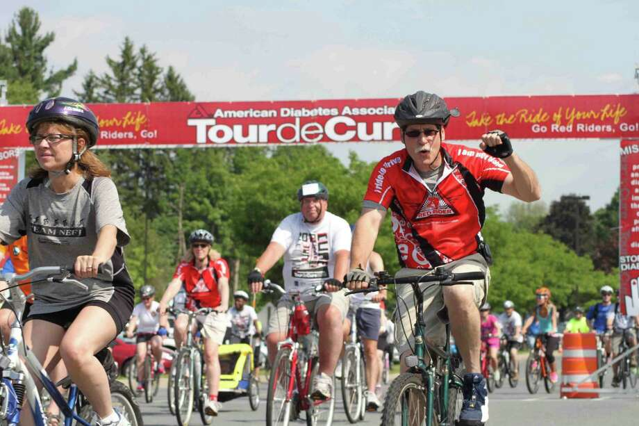 Tour de Cure has attracted hundreds of riders. The next event is Sunday, June 1, in Saratoga Springs. (Submitted photo)
