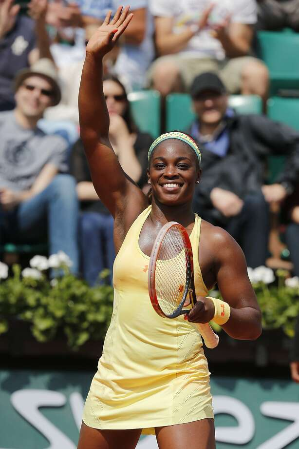 Sloane Stephens, who advanced to the Round of 16, is 21-5 in Grand Slam matches and 32-29 in all other tournaments. Photo: David Vincent, Associated Press