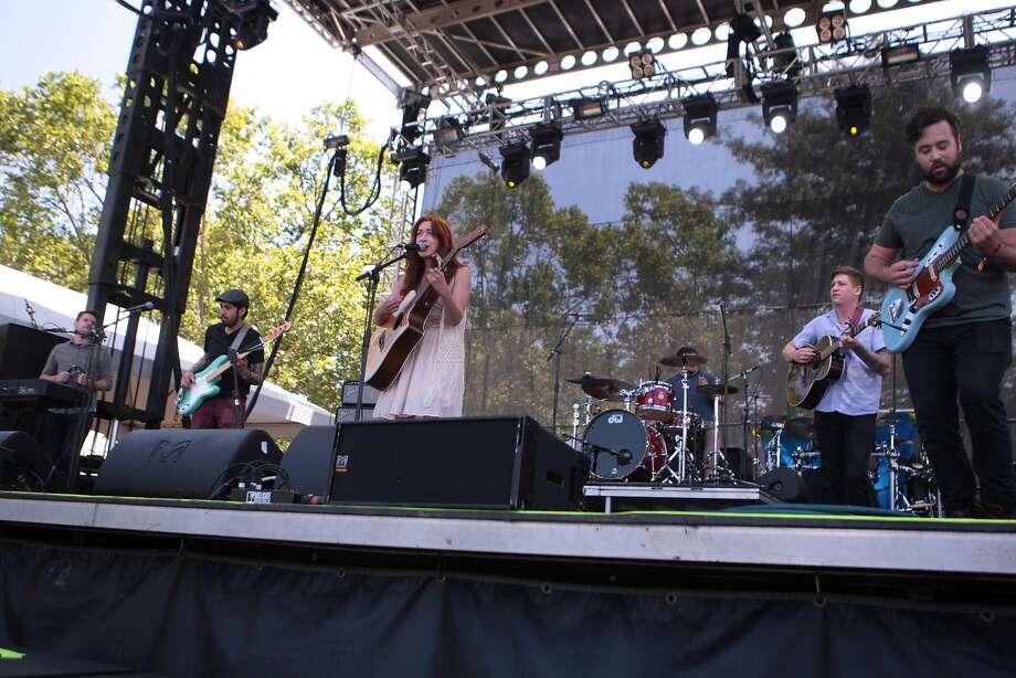 Autumn Sky performs at the 2014 Bottlerock Napa Valley music, food and wine festival on Saturday, May 31, 2014 in Napa, Calif. Photo: Kevin N. Hume, The Chronicle