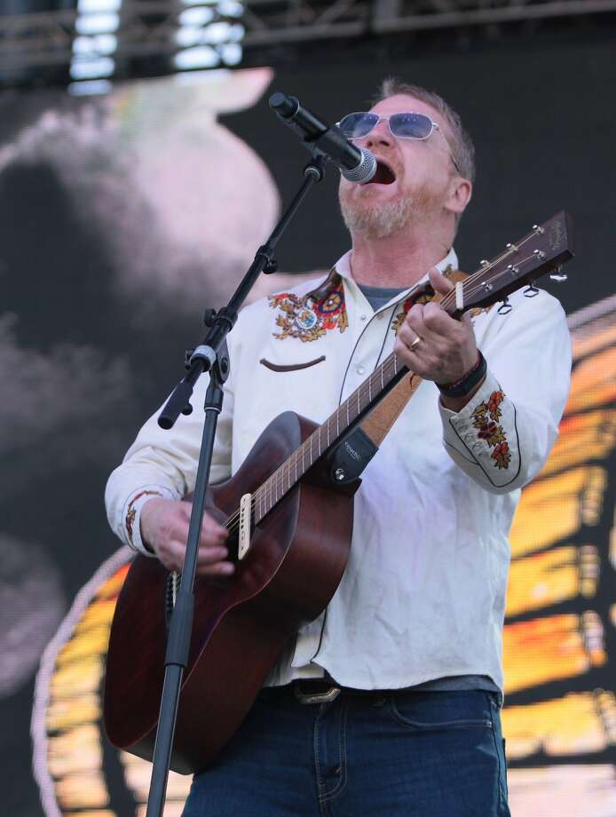 David Lowery of Cracker sings during the band's performance at the 2014 Bottlerock Napa Valley music, food and wine festival on Saturday, May 31, 2014 in Napa, Calif. Photo: Kevin N. Hume, The Chronicle