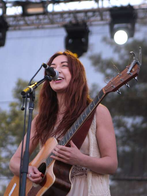 Autumn Sky smiles during her performance at the Sprint Stage during the 2014 Bottlerock Napa Valley music, food and wine festival on Saturday, May 31, 2014 in Napa, Calif. Photo: Kevin N. Hume, The Chronicle