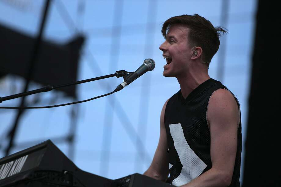 Matt Johnson of Matt and Kim performs at the 2014 Bottlerock Napa Valley music, food and wine festival on Saturday, May 31, 2014 in Napa, Calif. Photo: Kevin N. Hume, The Chronicle