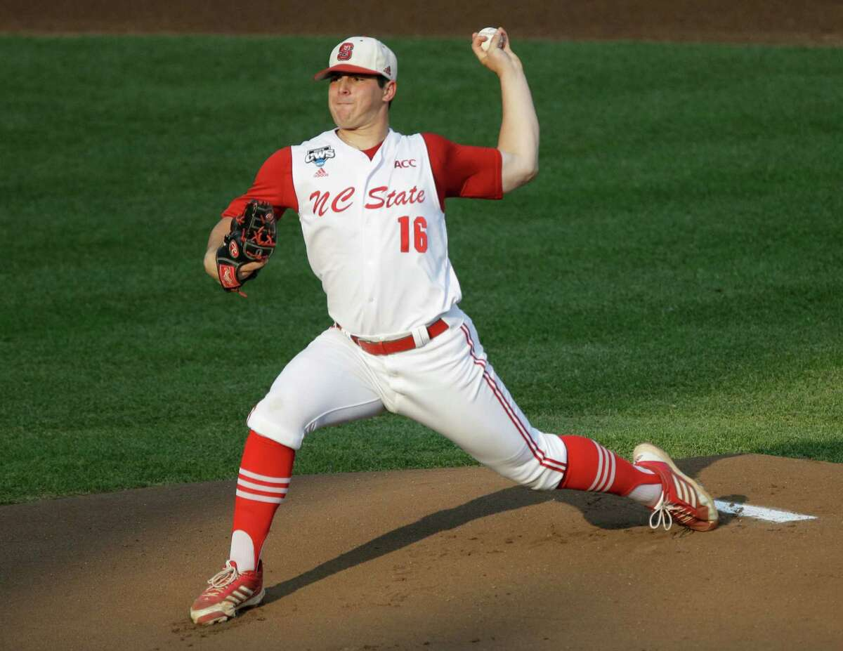 North Carolina State lefthander Carlos Rodon ranks high among potential players the Astros could target with the No. 1 pick in the draft.
