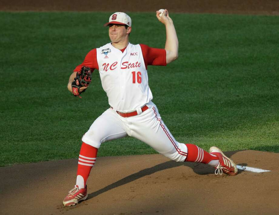 North Carolina State lefthander Carlos Rodon ranks high among potential players the Astros could target with the No. 1 pick in the draft. Photo: Nati Harnik, STF / AP