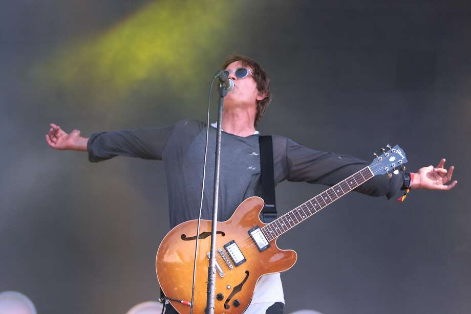Stephen Jenkins of Third Eye Blind performs at the 2014 Bottlerock Napa Valley music, food and wine festival on Saturday, May 31, 2014 in Napa, Calif. Photo: Kevin N. Hume, The Chronicle