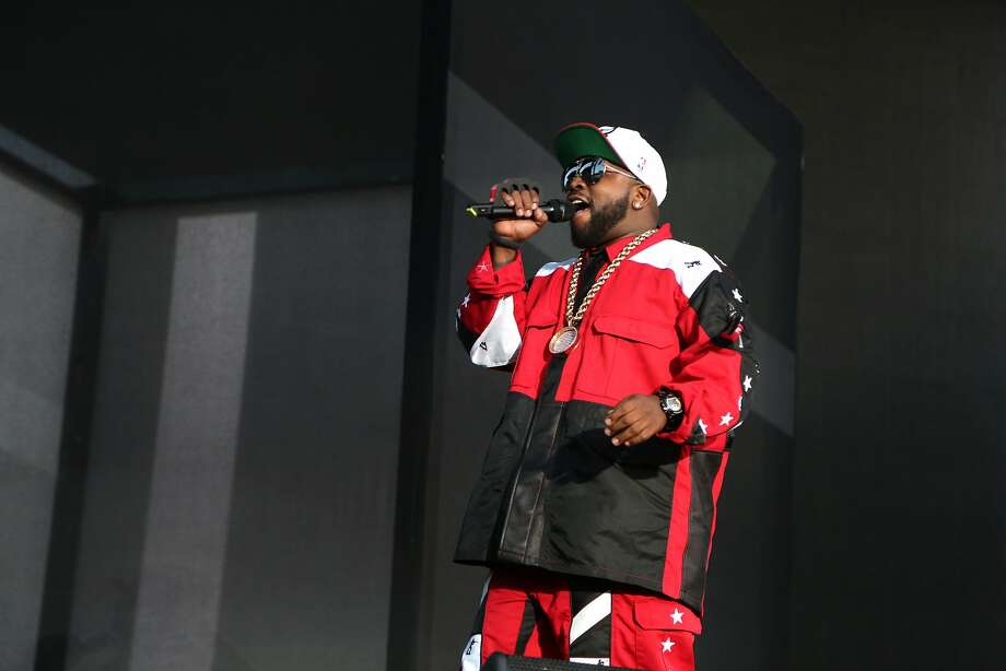 "Antwan ""Big Boi"" Patton of hip-hop duo Outkast performs at the 2014 Bottlerock Napa Valley music, food and wine festival on Saturday, May 31, 2014 in Napa, Calif. Photo: Kevin N. Hume, The Chronicle"