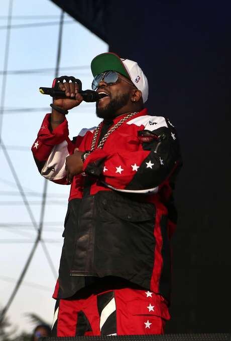 """Antwan """"Big Boi"""" Patton of Outkast performs at the 2014 Bottlerock Napa Valley music, food and wine festival on Saturday, May 31, 2014 in Napa, Calif. Photo: Kevin N. Hume, The Chronicle"""