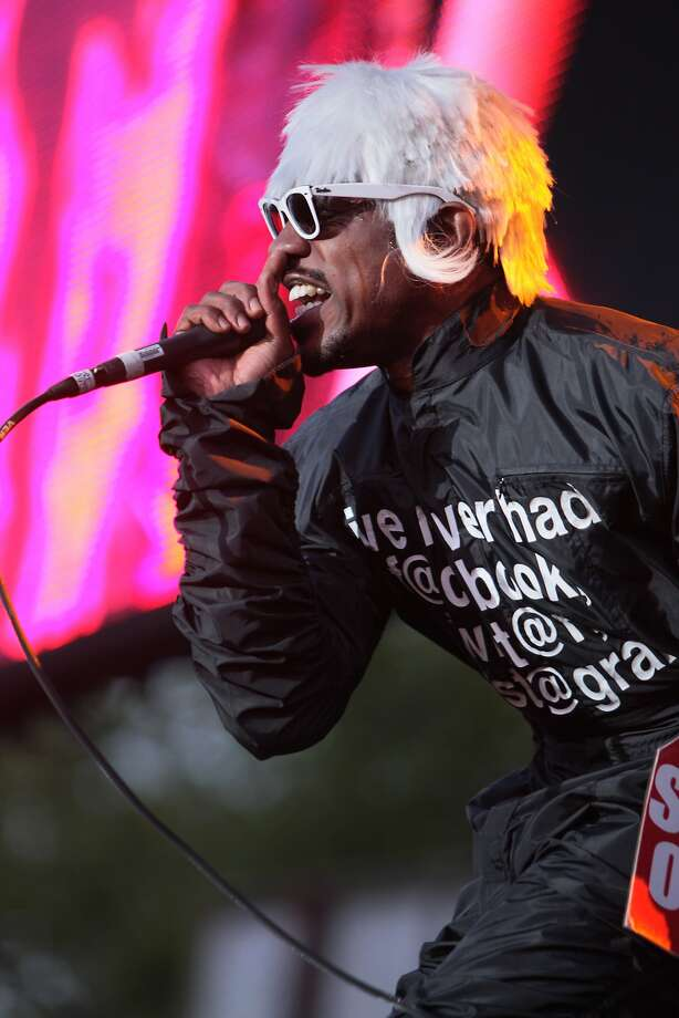 "Andre ""Andre 3000"" Benjamin of Outkast performs at the 2014 Bottlerock Napa Valley music, food and wine festival on Saturday, May 31, 2014 in Napa, Calif. Photo: Kevin N. Hume, The Chronicle"