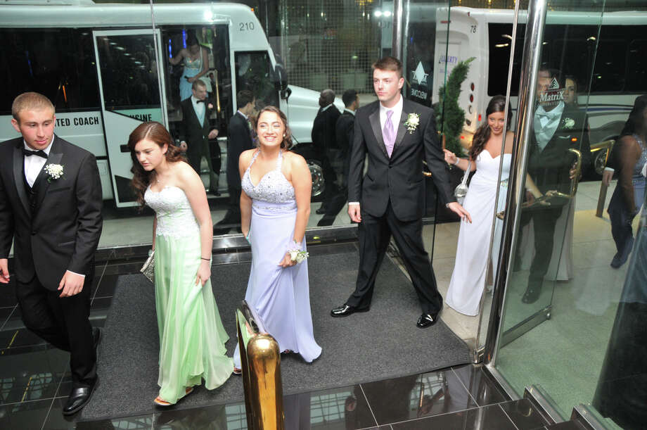 Trumbull High School seniors celebrated prom night at the Matrix Corporate Center in Danbury on Friday, May 30. Were you SEEN? Photo: Jordan Miller, Contributed Photo / Connecticut Post