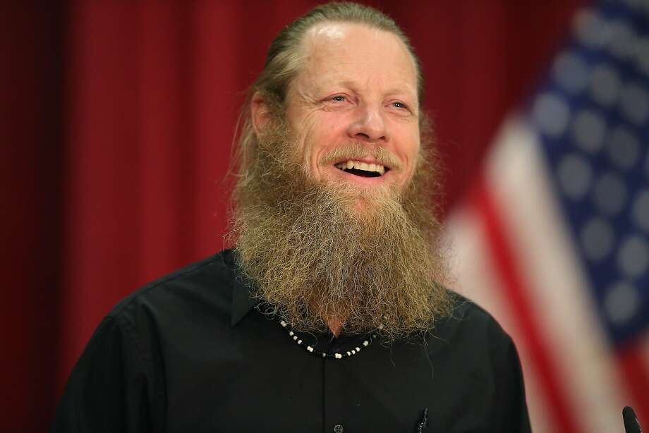 Bob Bergdahl speaks at a news conference in Boise, Idaho, about the release of his son in exchange for Taliban detainees. Photo: Scott Olson, Getty Images