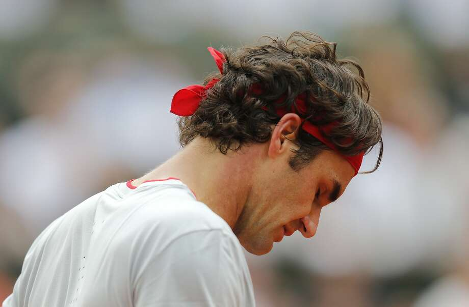 Roger Federer hasn't made the quarterfinals of three of the past four Grand Slams. Photo: David Vincent, Associated Press