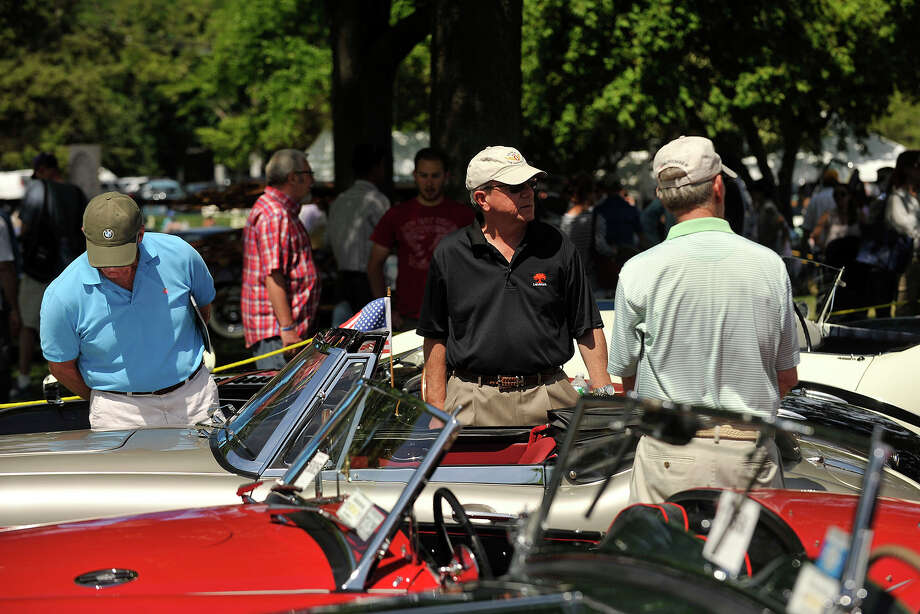 Scenes from the Greenwich Concours d'Elegance at Roger Sherman Baldwin Park in Greenwich, Conn., on Sunday, June 1, 2014. Photo: Jason Rearick / Stamford Advocate