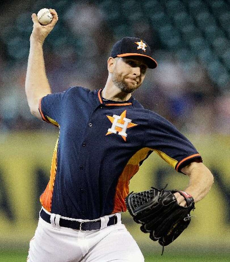 June 1: Orioles 9, Astros 4  Scott Feldman had a rough go against his former team. Photo: Bob Levey, Getty Images