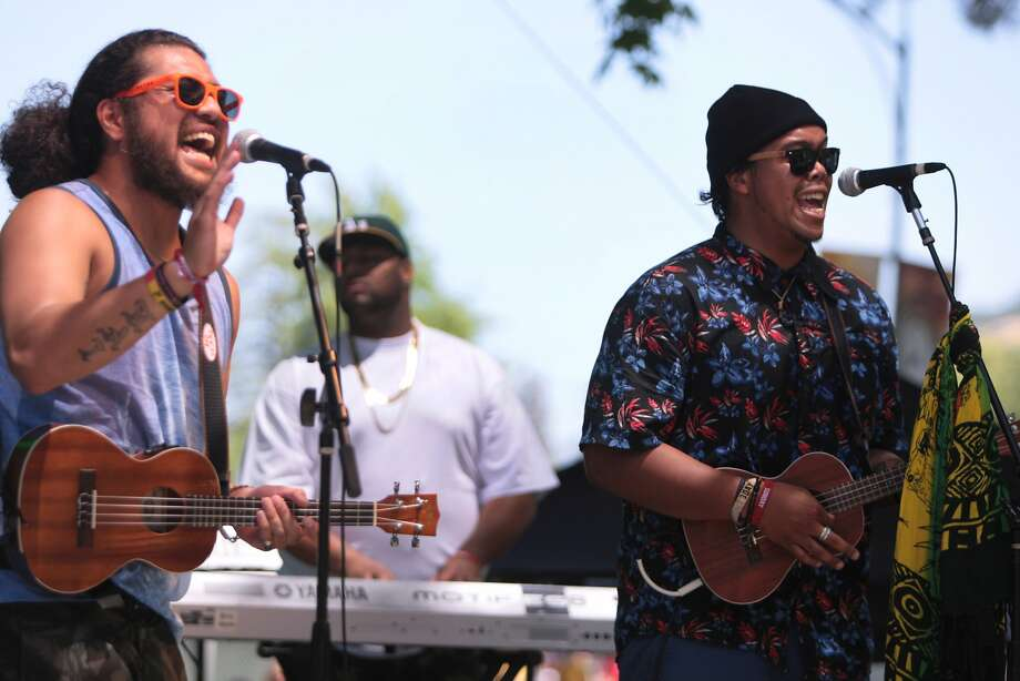 CRSB of Vallejo perform at the City Winery Lounge stage during the 2014 Bottlerock Napa Valley music, food and wine festival on Sunday, June 1, 2014 in Napa, Calif. Photo: Kevin N. Hume, The Chronicle