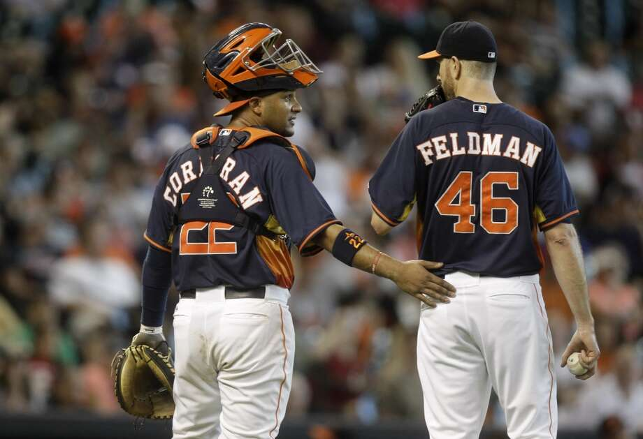 June 1: Orioles 9, Astros 4  Scott Feldman served up two home runs, including a grand slam, and allowed all nine runs against his former team.  Record: 24-34. Photo: Patric Schneider, Associated Press