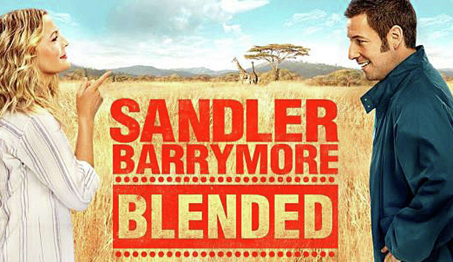 """Adam Sandler and Drew Barrymore re-unite in the new movie comedy, """"Blended."""" Photo: Contributed Photo / Westport News"""