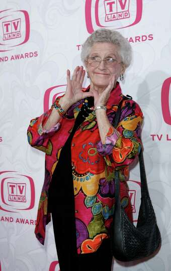 FILE - In this April 14, 2007, file photo, Ann B. Davis arrives at the 5th Annual TV Land Awards in