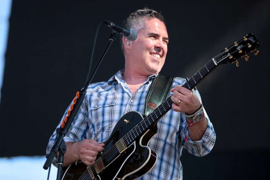 Ed Robertson of Barenaked Ladies smiles during the band's performance at the 2014 Bottlerock Napa Valley music, food and wine festival on Sunday, June 1, 2014 in Napa, Calif. Photo: Kevin N. Hume, The Chronicle