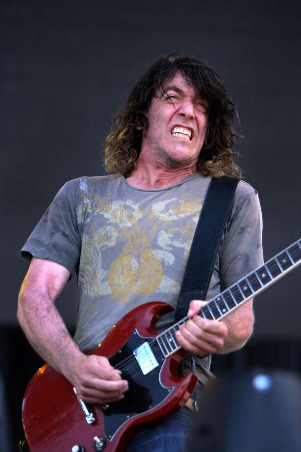 Eric Schenkman of the Spin Doctors solos during the band's performance at the 2014 Bottlerock Napa Valley music, food and wine festival on Sunday, June 1, 2014 in Napa, Calif. Photo: Kevin N. Hume, The Chronicle