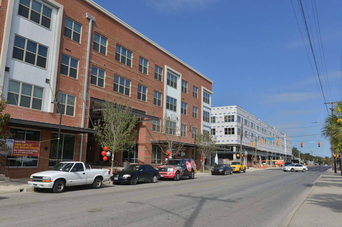 Houston Community College is interested in building something like San Antonio's student-friendly Tobin Lofts.