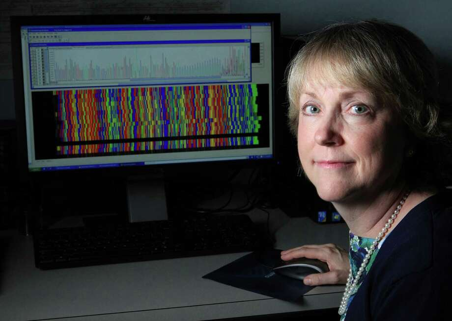 Hope Northrup is a specialist in research on tuberous sclerosis, a genetic disease that affects between 1 in 6,000 and 1 in 10,000. Northrup runs a lab at UTHealth to study the disease. Photo: Mayra Beltran, Staff / © 2014 Houston Chronicle