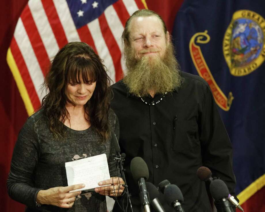 """Jani and Bob Bergdahl told their son, """"There is no hurry. You have your life ahead of you.""""  Photo: Otto Kitsinger, Associated Press / FR171002 AP"""