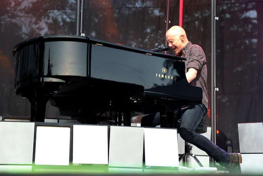Isaac Slade of The Fray performs at the 2014 Bottlerock Napa Valley music, food and wine festival on Sunday, June 1, 2014 in Napa, Calif. Photo: Kevin N. Hume, The Chronicle